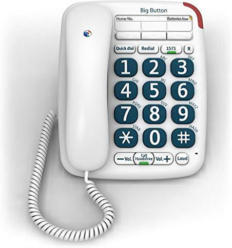 phone, large button phone