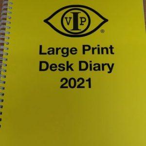 large print diary